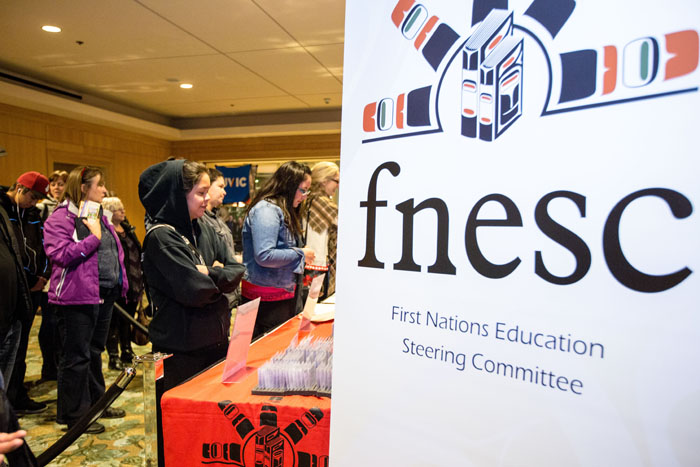 VANCOUVER, BC_NOV 24_2016: FNESC Begins Their Annual Conference At The Westin Hotel Friday Evening Starting With Registration And First Nations Dance Perfermances. Auctions Were Held To Raise Money For Programs Across BC.
